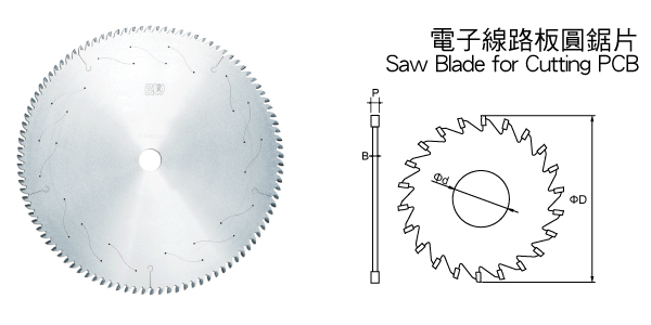 Saw Blade Saw Blade For Cutting Pcb Cutting Tools End