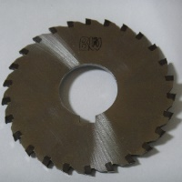 Circular saw with metal ceramic blade