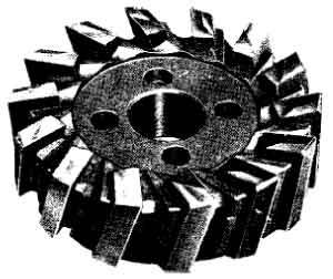 HSS face milling cutte